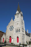 Iglesia de piedra de la comunidad Imágenes de archivo libres de regalías