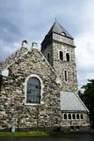 Iglesia de piedra del lesund de Ã… Imagen de archivo