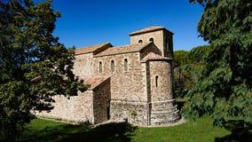 Iglesia de piedra del siglo X fotografía de archivo libre de regalías