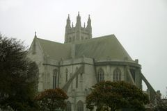 Iglesia de piedra gótica de San Fracisco Fotografía de archivo libre de regalías