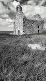 Iglesia de piedra, isla de Dalkey, Irlanda Fotos de archivo libres de regalías