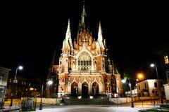 Iglesia de Polonia fotografía de archivo libre de regalías