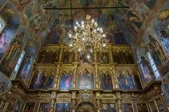 Iglesia de príncipe Demitry el mártir del siglo XVII, Uglich, Rusia Imagen de archivo libre de regalías