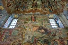 Iglesia de príncipe Demitry el mártir del siglo XVII, Uglich, Rusia Foto de archivo