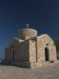 Iglesia de Profitis Ilias, Protaras, Chipre Foto de archivo libre de regalías