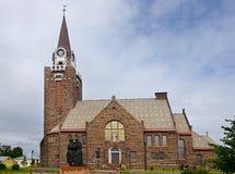 Iglesia de Raahe, Finlandia fotografía de archivo