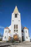 Iglesia de Rolvsøy (oeste) (4) Imagen de archivo libre de regalías