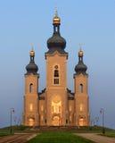 Iglesia de Roman Catholic Imagen de archivo