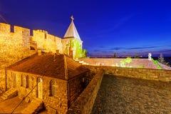 Iglesia de Ruzica en la fortaleza de Belgrado imagen de archivo