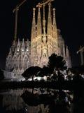 Iglesia de Sagrada Familia en Barcelona fotografía de archivo libre de regalías