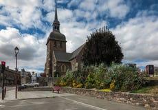 Iglesia de Saint Eloi en Iffendic, Francia imagen de archivo libre de regalías