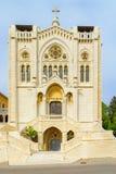 Iglesia de Salesian de Jesús el adolescente, Nazaret Imagen de archivo