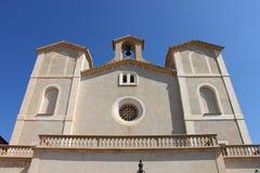 Iglesia de Salvador del santo en Arta Imagenes de archivo