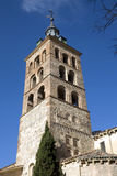 Iglesia de San Andrés - Segovia Stock Photo