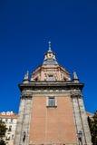 Iglesia de San Andres en Madrid Imágenes de archivo libres de regalías