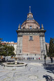Iglesia de San Andres in Madrid Royalty Free Stock Images