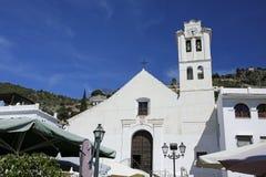 Iglesia de San Antonio, Frigiliana, España Fotos de archivo