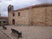 Iglesia de San Esteban, Ávila, España Foto de archivo