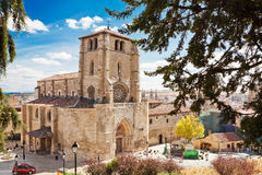 Iglesia De San Esteban in Burgos, Spain Royalty Free Stock Photos