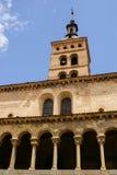 Iglesia de San Esteban (San Esteban Church), Segovia, Spain Royalty Free Stock Photography
