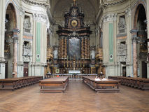 Iglesia de San Filippo Neri en Turín Imágenes de archivo libres de regalías