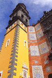 Iglesia de San Francisco en Puebla III Imagen de archivo libre de regalías