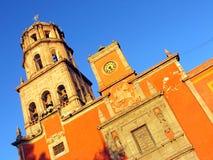 Iglesia de San Francisco en Queretaro, México. Fotografía de archivo libre de regalías