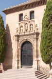 Iglesia de San Gil y Santa Ana in Granada Royalty Free Stock Photos