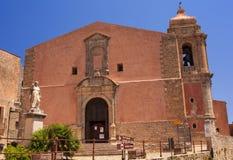Iglesia de San Giuliano Parish, Erice Imagen de archivo