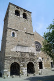 Iglesia de San Giusto, Trieste Fotografía de archivo libre de regalías