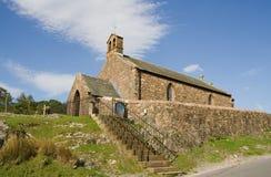 Iglesia de San Jaime, Buttermere, districto del lago Fotografía de archivo