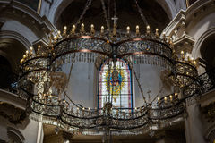 Iglesia de San Jaime el mayor Foto de archivo libre de regalías