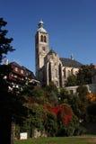 Iglesia de San Jaime en Kutna Hora Fotografía de archivo libre de regalías