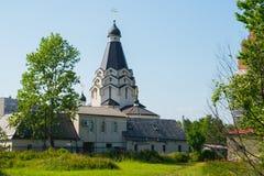 Iglesia de San Jorge en la avenida de la gloria St Petersburg, Rusia foto de archivo