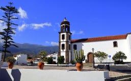 Iglesia de San Juan Bautista, Arico, Tenerife Imágenes de archivo libres de regalías