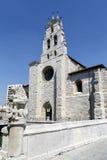 Iglesia de San Lesmes, Burgos España Fotos de archivo libres de regalías