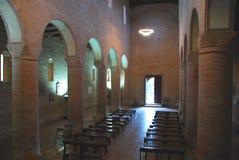 Iglesia de San Lorenzo. Pegognaga, Italia Imagen de archivo libre de regalías