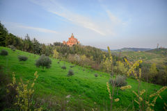 Iglesia de San Luca, Bolonia fotografía de archivo libre de regalías