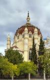 Iglesia de San Manuel y San Benito, Madrid imagen de archivo libre de regalías