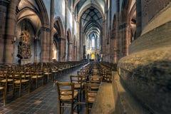 Iglesia de San Martín en Colmar Imagen de archivo libre de regalías