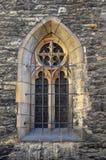 Detalle de la ventana vieja, Praga foto de archivo libre de regalías