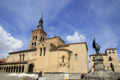 Iglesia de San Martín in Segovia. Iglesia de San Martín in Segovia, Spain Stock Photos
