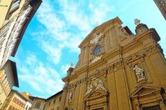Iglesia de San Micaela e Cayetano Imágenes de archivo libres de regalías
