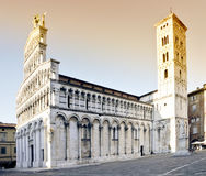 Iglesia de San Micaela en Italia Imagen de archivo libre de regalías