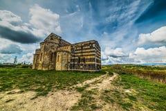 Iglesia de San Michele Salvenero en Cerdeña Imagen de archivo libre de regalías