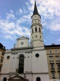 Iglesia de San Miguel Foto de archivo libre de regalías