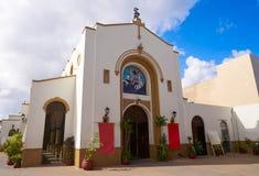 Iglesia de San Miguel Church em Cozumel foto de stock