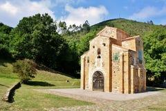 Iglesia de San Miguel de Lillo Imágenes de archivo libres de regalías