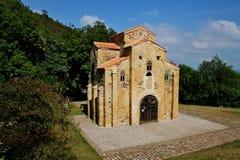 Iglesia de San Miguel de Lillo Foto de archivo libre de regalías