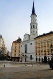 Iglesia de San Miguel - Viena Foto de archivo